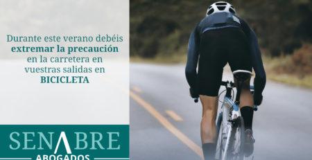 Precaución ciclistas